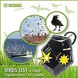 Isotronic dispositivi di allontanamento uccelli a batteria for Allontanare i gatti