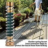 Garden Faucet Extension Hose Connector Spring