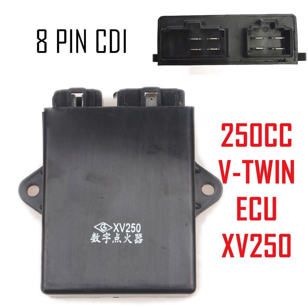 Wingsmoto 2uj Ecu Unit Digital Ignition Cdi For Yamaha Lifan Engines 5 Pin Wiring Diagram Xv250 Virago Route 66 Keeway 250 Vento Colt V Twin Rhino Hunter 250cc Chopper