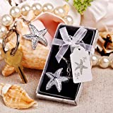 Brilliant starfish key chain, 1