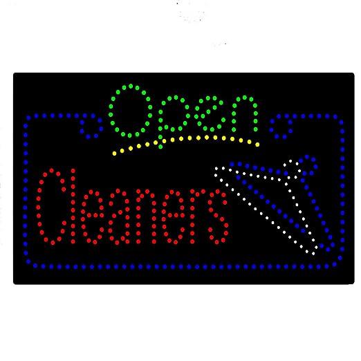 Pizarra de luz LED para limpieza de lavandería, pizarra de ...