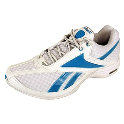 Womens Reebok Traintone White Blue Gym Trainers Running Trainer Ladies  Shoes 5.5 0f8c932489