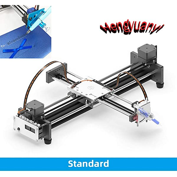 DIY 2 Axis Smart Drawing Robot - Versátil Escritor XY Plotter mano ...