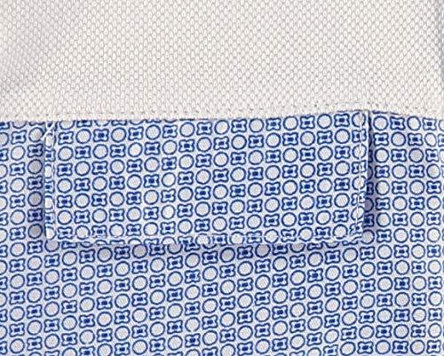 Piccino Piccina Baby Boys Short Sleeve Romper White Blue