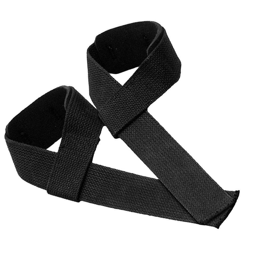 1 Pair Black Padded Anti-slip Weight Lifting Wrist Support Strap Wrap Glove Generic