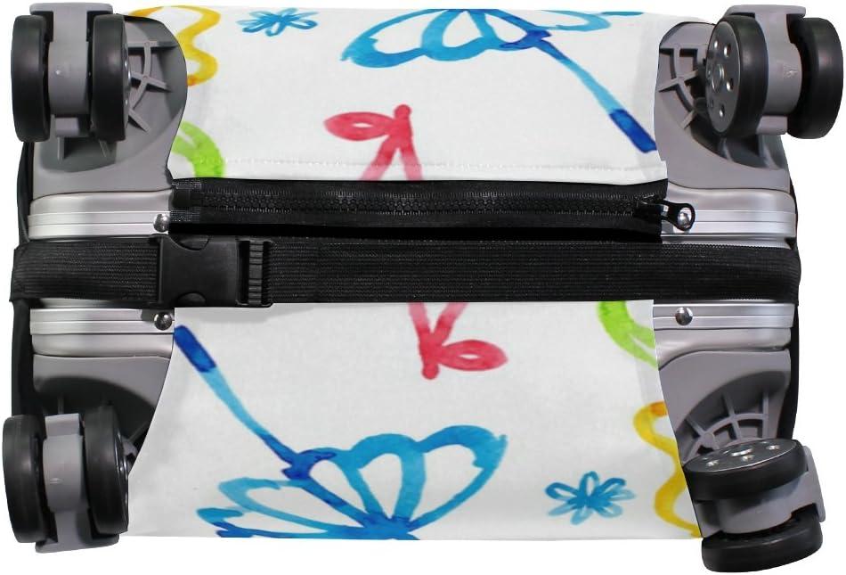 OREZI 3D Camera Bike Ice Cream Luggage Protector Suitcase Cover 18-32 Inch