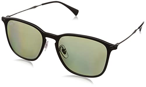 Amazon.com: Ray-Ban rb8353 – 63519 a anteojos de sol Negro ...
