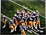 Rudy Ruettiger Signed 11x14 Photo Rudy Notre Dame Fighting Irish PSA/DNA Auto (C)