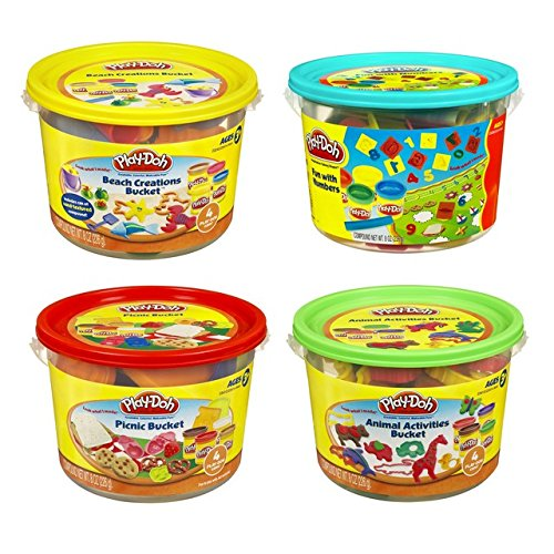 Play-Doh 23414 Play-Doh® Bucket Assorted Styles (Play Doh Bucket)