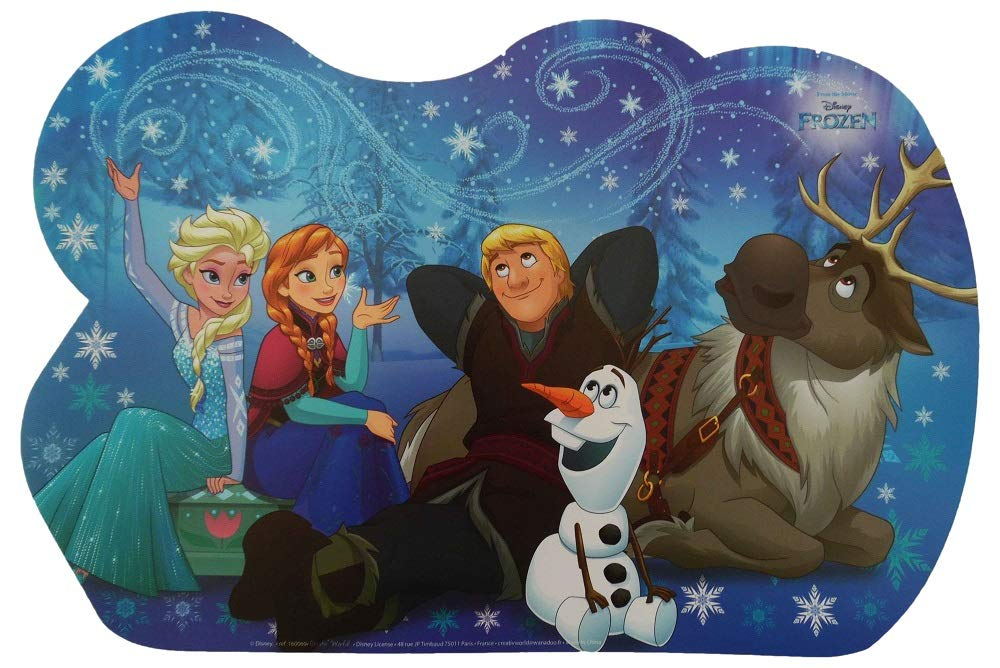 WEB world electronic business Tappetino Multiuso 43x30 cm Disney Frozen