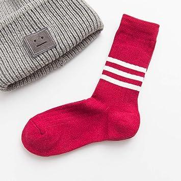 SIKESONG Montón Completo Neutral Clásico Divertido Mujer Happy Socks Calcetines De Algodón Kawaii (5 Pares
