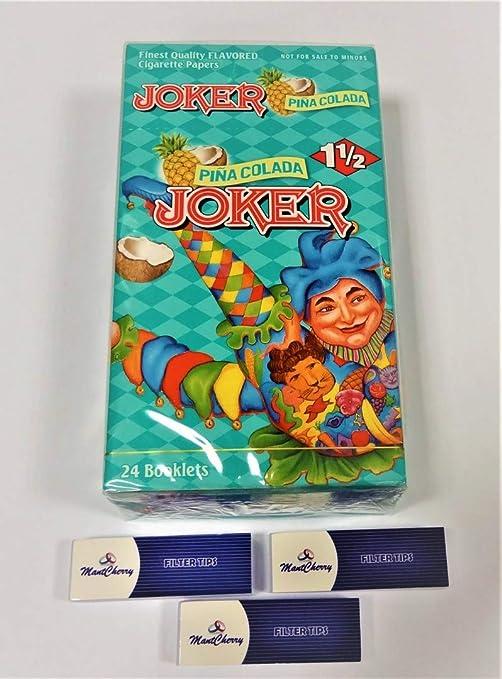 Papel para cigarrillos Joker tamaño 1 1/2 de la más alta ...