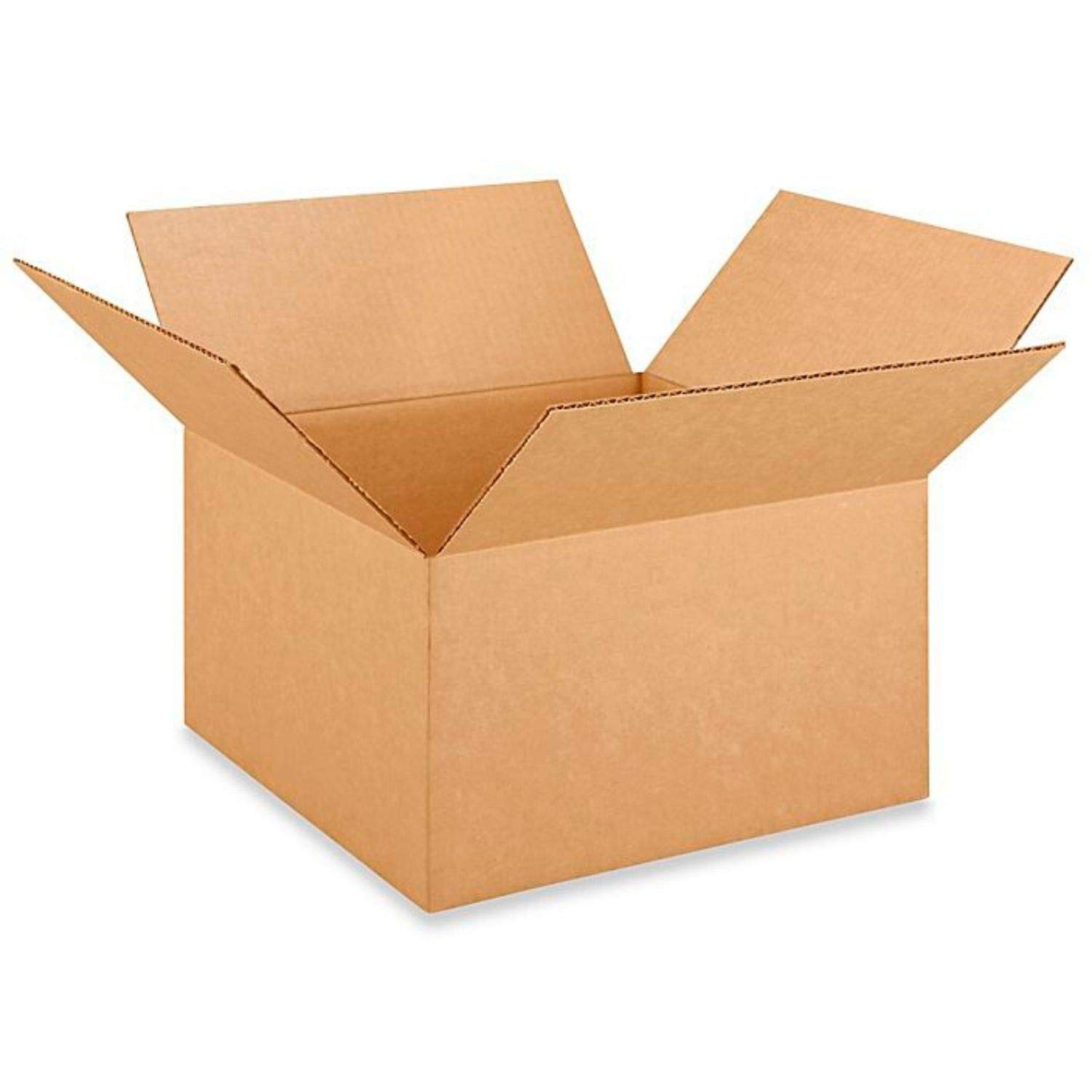 """IDL Packaging Medium Corrugated Shipping Boxes 14""""L x 14""""W x 8""""H (Pack of 25) - Excellent Choice of Sturdy Packing Boxes for USPS, UPS, FedEx Shipping"""