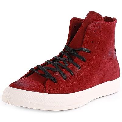 b42ab9e1267397 Converse Chuck Taylor Back Zip Hi (Unisex) Unisex Sneakers Shoes 144690C  Size 12 D(M) US Men D (Standard Width) Oxheart