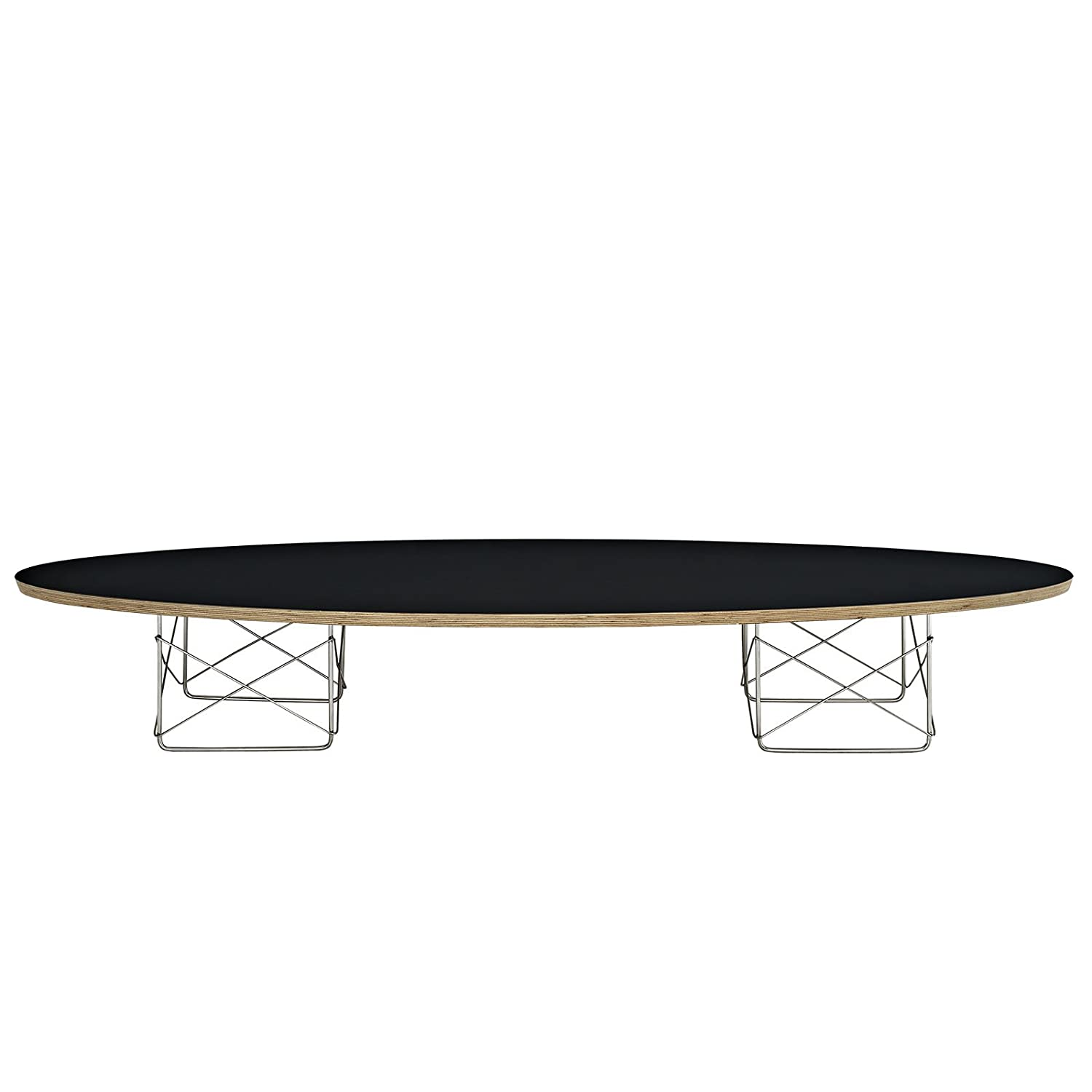 Amazon Modway Surfboard Elongated Coffee Table Black
