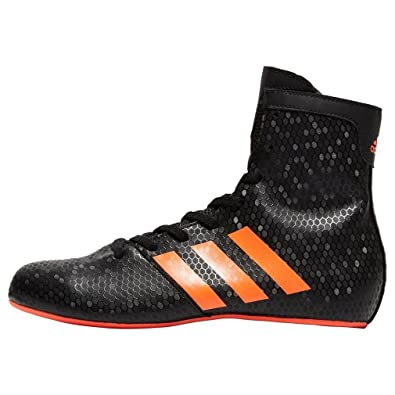 newest collection a2113 0ded3 adidas KO Legend 16.2 Kids Boxing Trainer Shoe Boot Black Red - UK 5