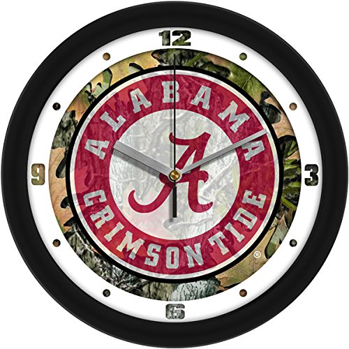 SunTime NCAA Alabama Crimson Tide Wall Clock - -
