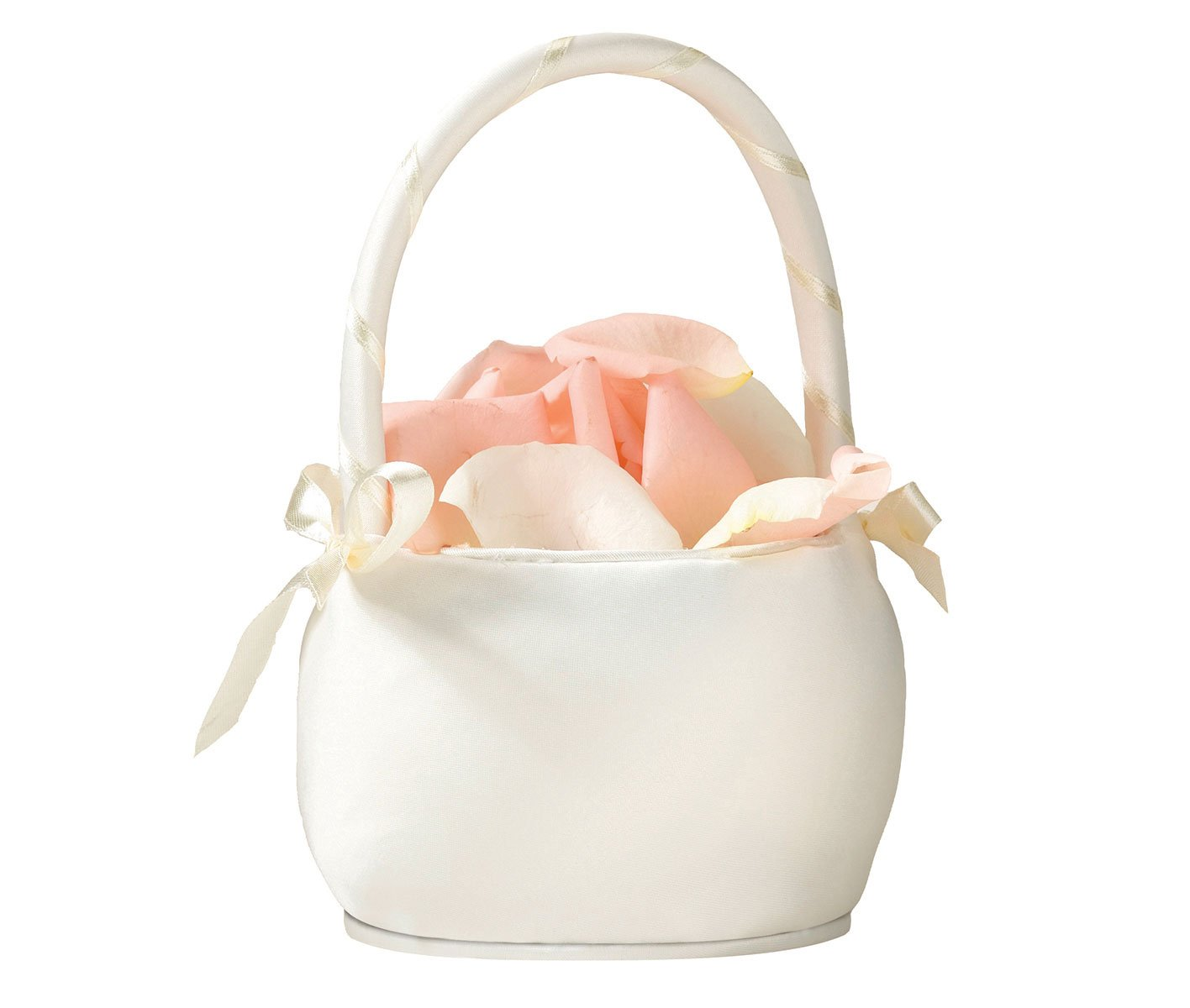 Amazon Flower Girl Basket Color Ivory Home Kitchen