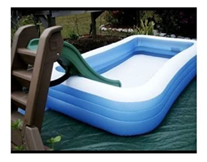 Amazon.com: Large Family Inflatable Swimming Pool Center ...