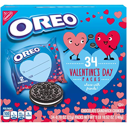 Oreo Valentine's Day Pack Chocolate Sandwich Cookies, 34Count