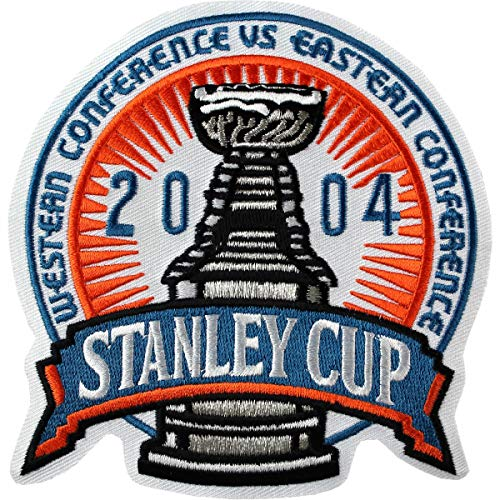 2004 World Cup Hockey - AJ Sports World 2004 Stanley Cup Finals Authentic Jersey Patch - Lightning vs Flames
