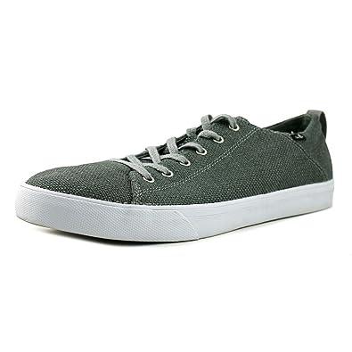 Sanuk Men's Staple Charcoal Woven Sneaker 8.5 D ...