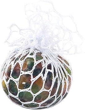 Pelota de malla para apretar la uva, pelota de estrés suave ...