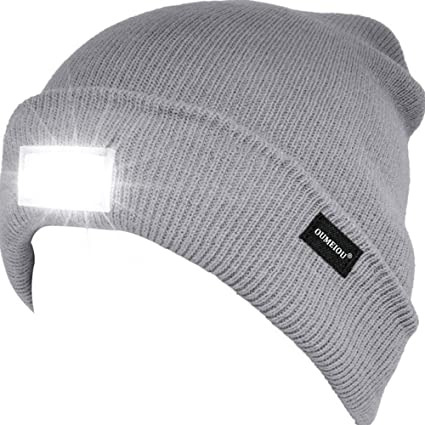 5 LED Flashlight Torch Light Beanie Hat Cap Camping Hiking Hunting,cycling,walk,