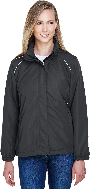 78224 M Ash City Womens Profile Fleece-Lined All-Season Jacket -CARBON 456