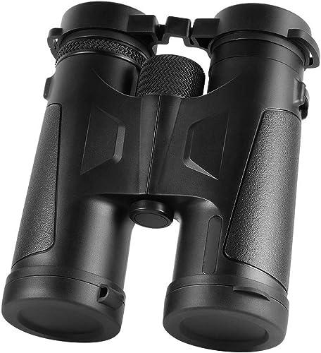 Professional 10×42 Binoculars,Dotca RN15 Binocular with BAK4 Prism Lens Large Vision for Bird Watching Traveling Hunting Sports -Black