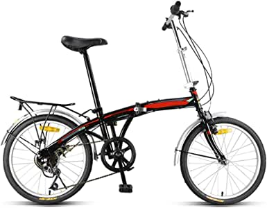 Gyj&mmm Bicicleta de Bicicleta Plegable de montaña, Bicicleta de ...