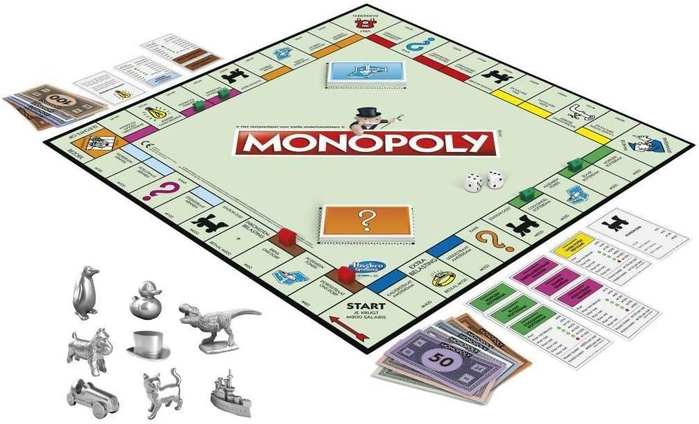 Hasbro- Classic - Monopoly (Versión holandesa) (0604051): Amazon.es: Juguetes y juegos