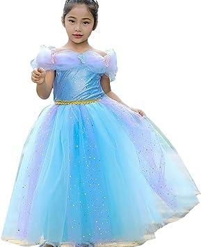 Disfraz de Cenicienta de Princesa Bella Aurora para niñas pequeñas ...