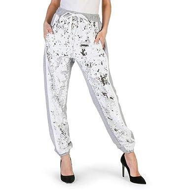 Imperial PUV5VAJ Pantalones de chándal Mujer Gris XS: Amazon.es ...