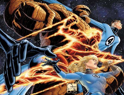 Marvel Comics Fantastic Four By JOE Quesada Poster 24 X 36 R