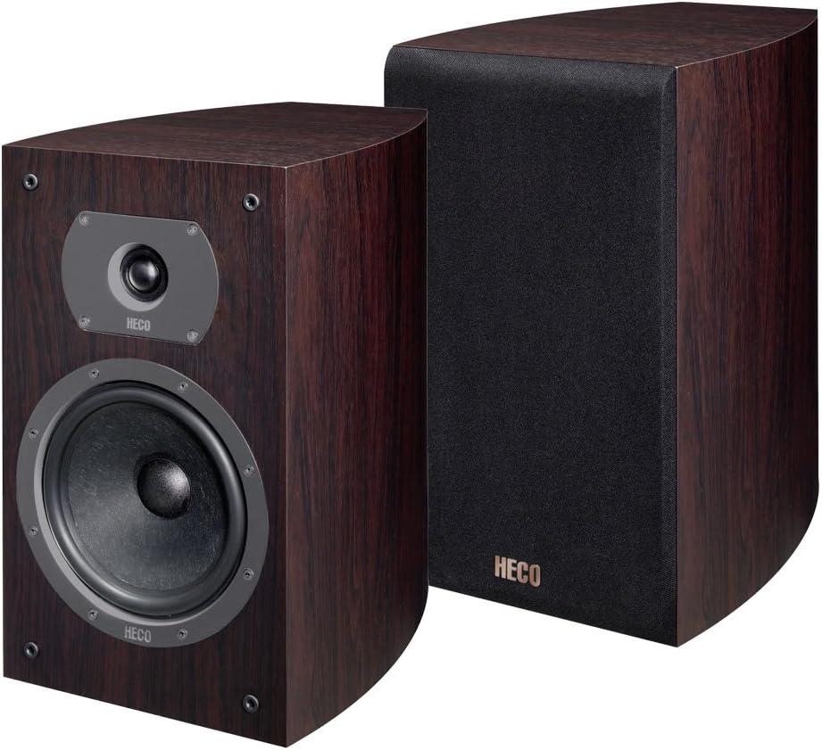 Heco Victa 300 Anniversary Edition 2 Wege Bassreflex Regallautsprecher Rosewood Paar Audio Hifi