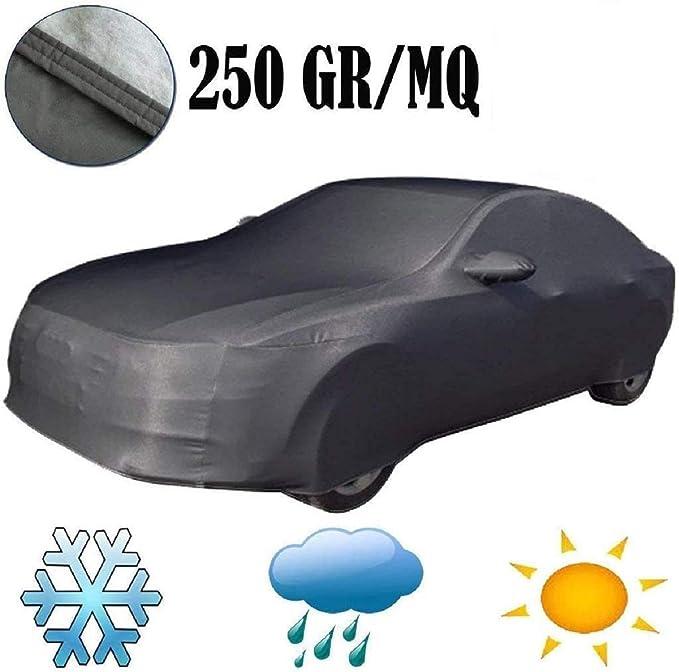 EMMEA Telo Copri Auto Felpato ANTIGRANDINE Compatibile con Jaguar F-Type Cabrio 16  COPRIAUTO Cover Impermeabile Anti Strappo Lavabile E AntiGraffio
