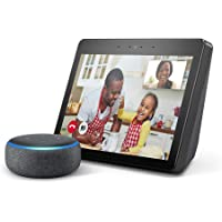All-new Echo Show (2nd Gen), Charcoal and Echo Dot (3rd Gen), Charcoal