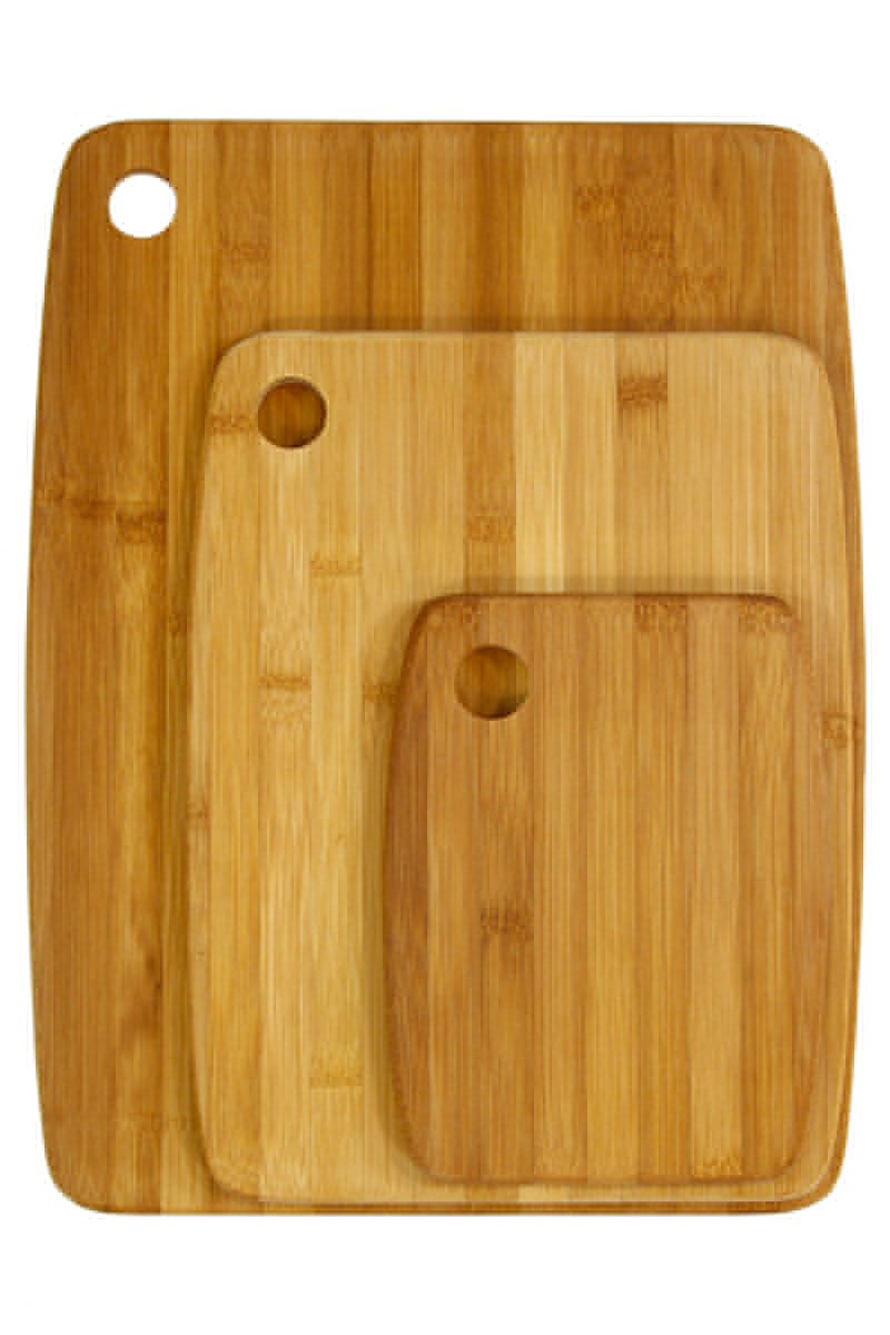 Bamboo Chopping Boards, Set of 3 Wood Chopping Boards