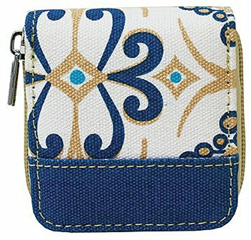 - Wellspring Contact Lenses Case w/ Storage Bottle and Mirror Seascape