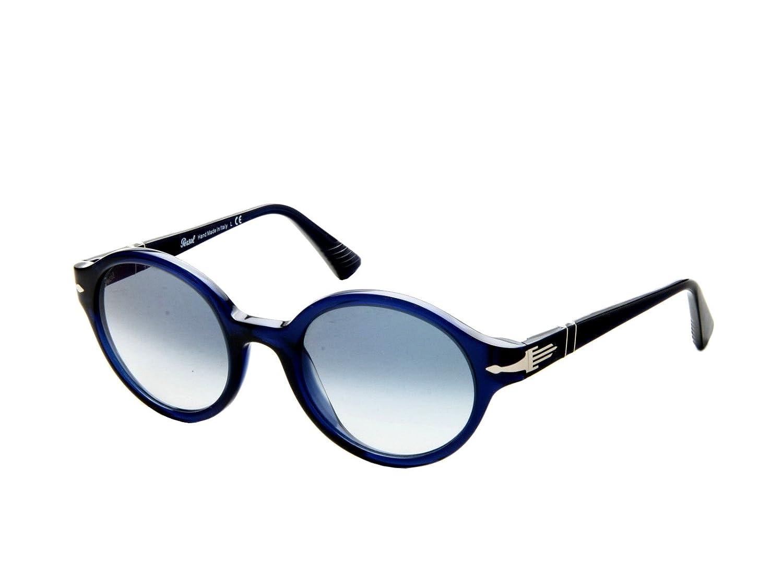 ecdb2c6726ea1 Persol Sunglasses PO3098S 181 3F Blue Blue Gradient 50 21 145 at Amazon  Men s Clothing store