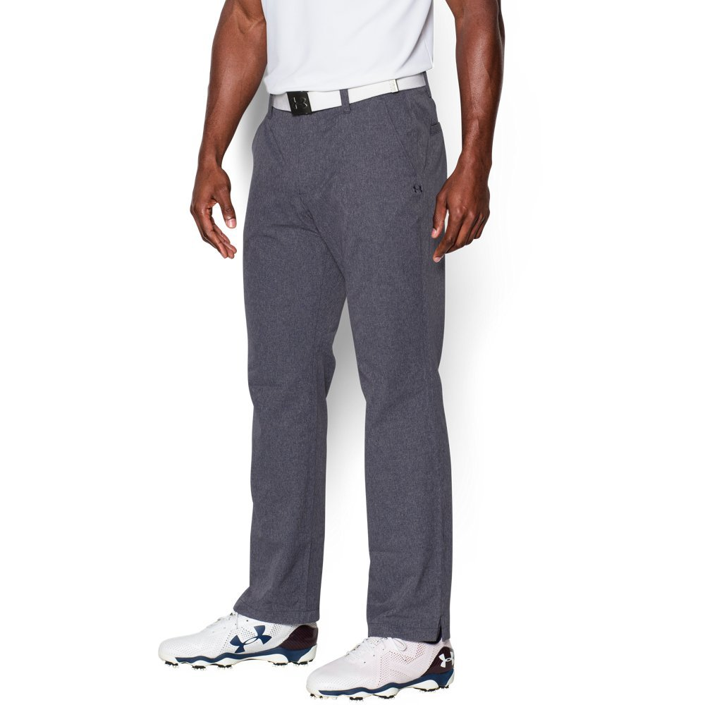 Under Armour Men's Match Play Vented Pants, Stealth Gray (008)/Stealth Gray, 30/32
