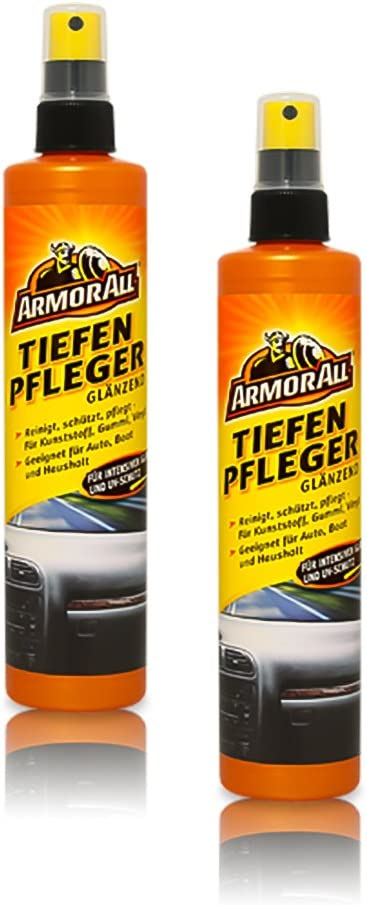 2x Armor All 10043l Tiefenpfleger GlÄnzend Kunststoffpflege Cockpitspray 300ml Auto