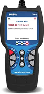 Innova 3040e OBD2 Scanner / Car Code Reader with ABS, Live Data, and Service Light Reset
