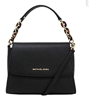 e7998ba93ef7 Michael Kors Sofia Small East West Saffiano Leather Satchel Crossbody Bag
