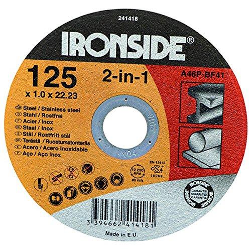Ironside 241418 Disco de corte para acero y acero inoxidable ...