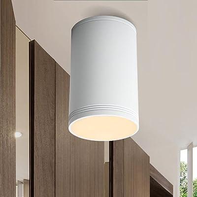 Élégance moderne Lampes LED Plafonnier LED Spots de plafond Plafonnier Downlight 5W Circulaire