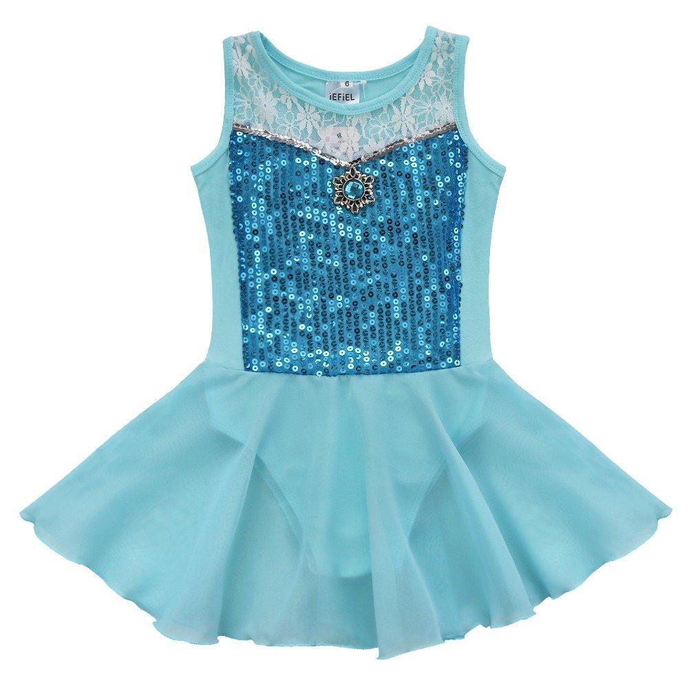 FEESHOW SOCKSHOSIERY ガールズ B0752RGVQ5 10-12|Sequined Blue Sequined Blue 43750