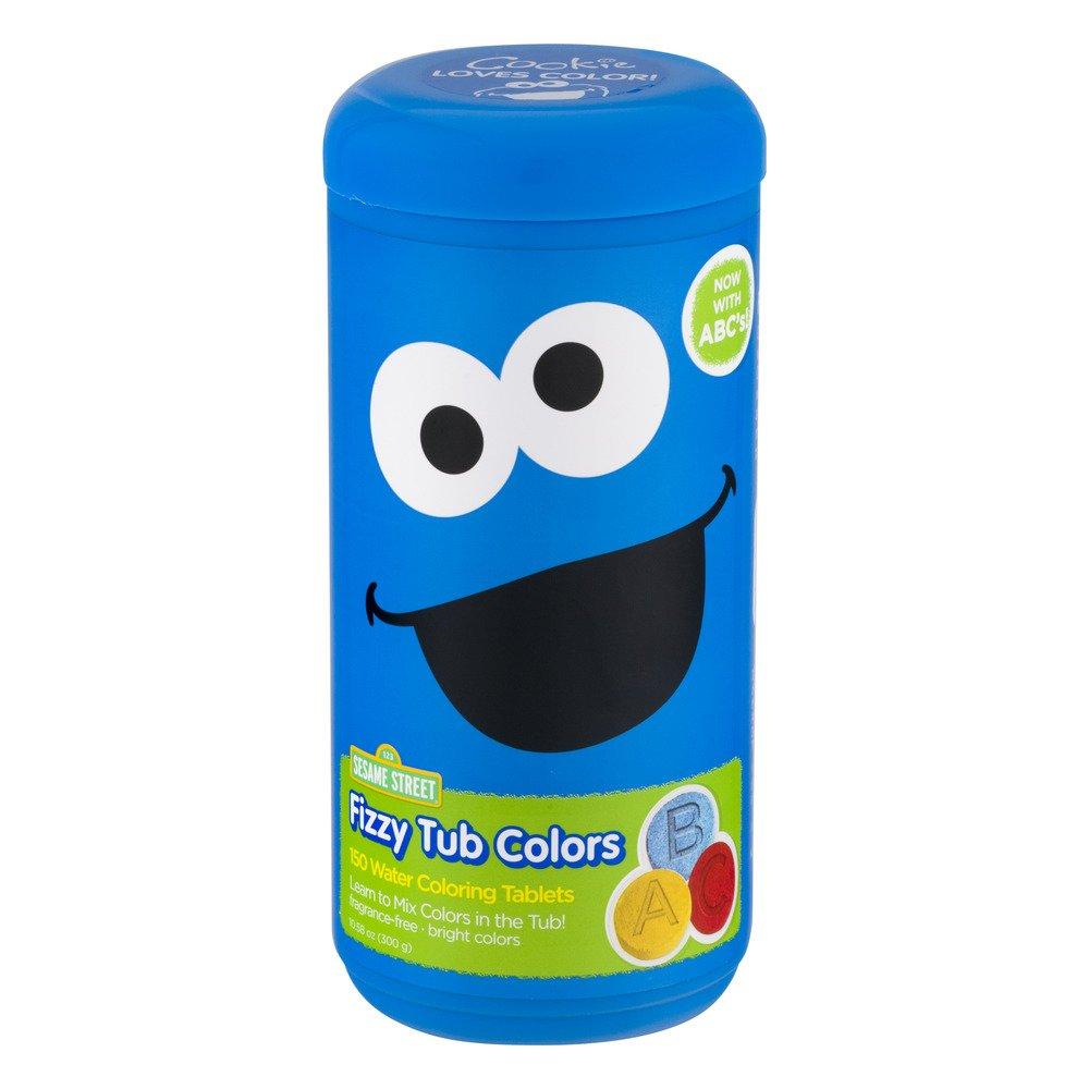 Amazon com: Sesame Street Fizzy Tub Color Tablets - 150