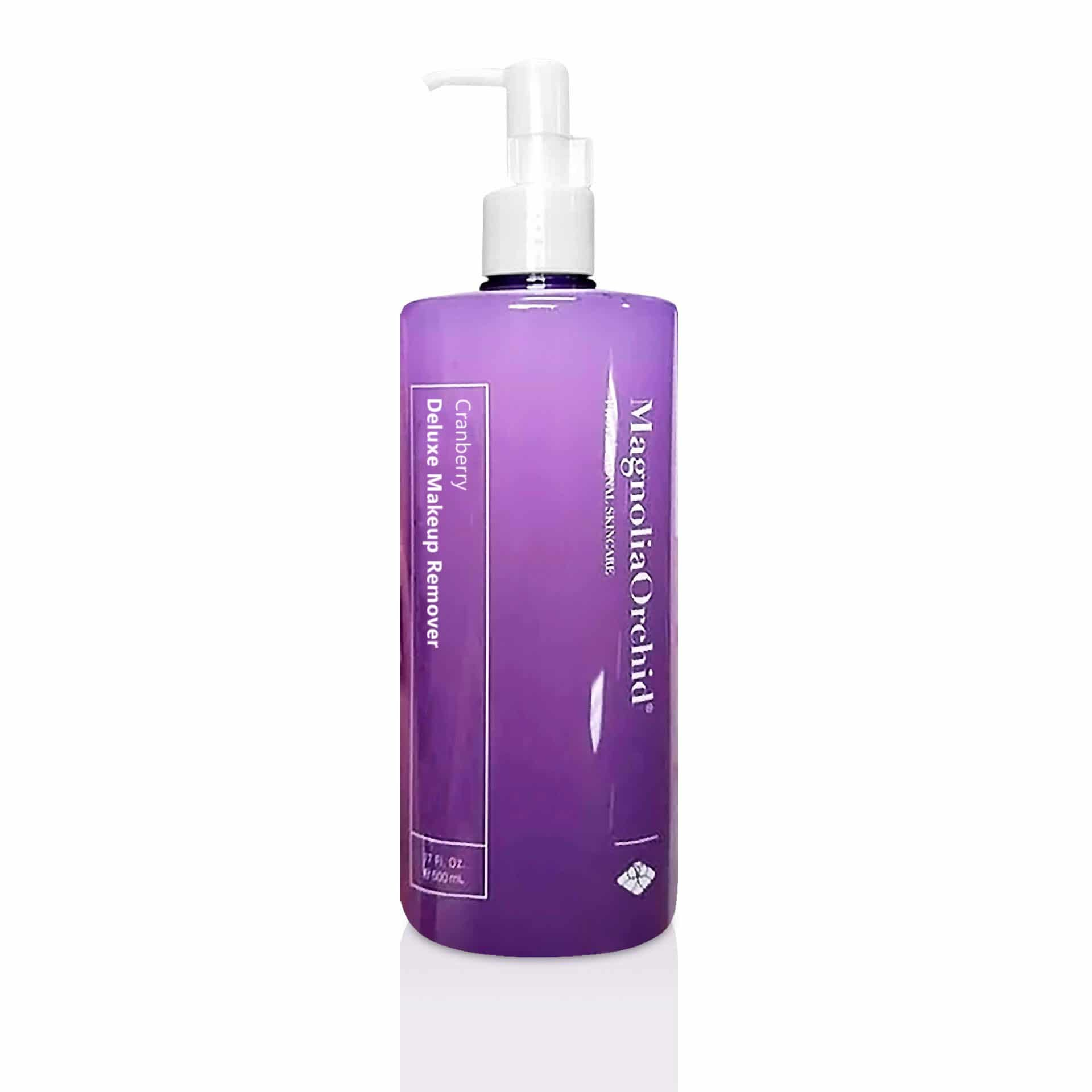 Magnolia Orchid Cranberry Deluxe Makeup Remover for All Skin Types